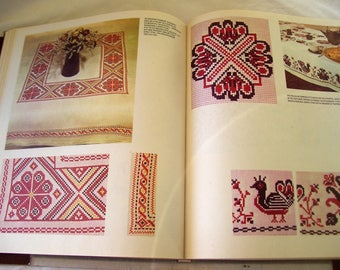 Vintage Book Embroidery Russian Book