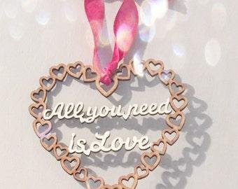Valentine gift, valentines, wedding, wedding decoration, hanging heart, hanging decoration, anniversary gift, wedding favour, wedding gift