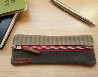 Small pencil pouch - Pencil case -gift for husband