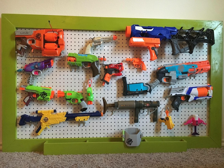 SomethingImade- World's Best? Nerf Gun Rack