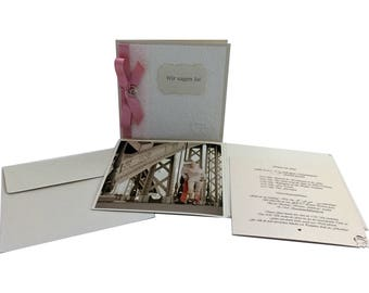 Wedding invitations, unique, high-quality, invitation cards, save the date - made by SVEVA
