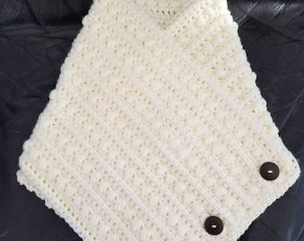 Crocheted cowl, Cowl, Neck Warmer