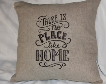 No place like Home accent pillow