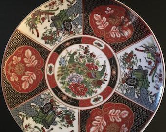 Antique Japanese Cloisonne Plate