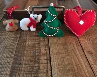 Handmade Felt Ornaments