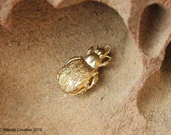Green Carab Beetle - Calosoma schayeri pendant