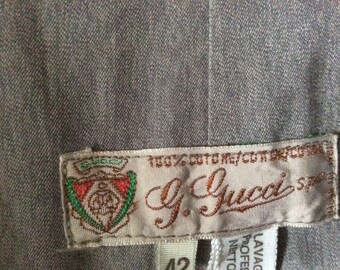 G.Gucci spa vintage trench coat