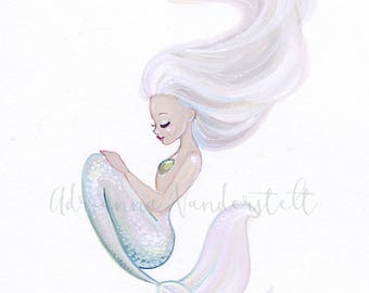 Pink Ice Mermaid