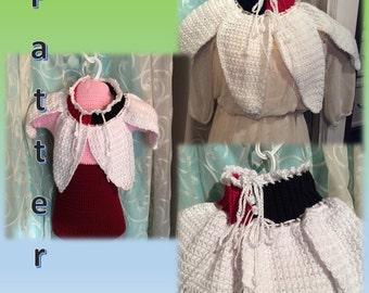 Harlequin Collar Crochet Pattern