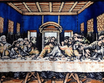 Art-Pictures-Vintage Last Supper Tapestry