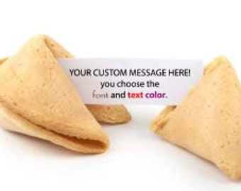 50 Customized Fortune Cookies You Choose The Message!