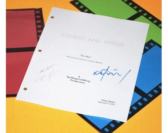 "Starsky and Hutch Script  ""The Bait"" Paul Michael Glaser, David Soul"