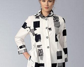 Vogue Pattern V9153 Misses' Shirt
