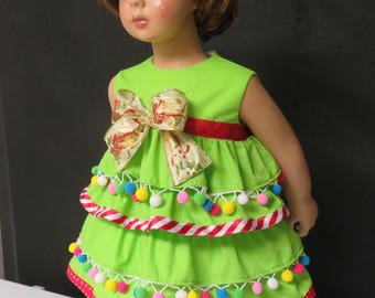 Bubbles baby clothes - Baby dress // baby Christmas tree // baby  dress // baby Christmas tree dress // Christmas tree costume.