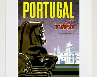 Portugal Art Wall Decor Retro Travel Poster  (ZT585)