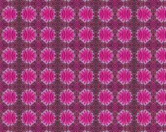 Judith's Fancy by Jennifer Paganelli for Free Spirit - Barbara - Magenta - Fat Quarter - FQ - Cotton Quilt Fabric
