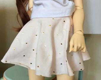 BJD SD/SD13 Skater Skirt for Delf Feeple 60