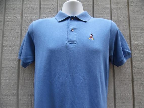 7e13ad962 Vintage Disney Shirt Mickey Mouse Vintage Polo Shirt Size