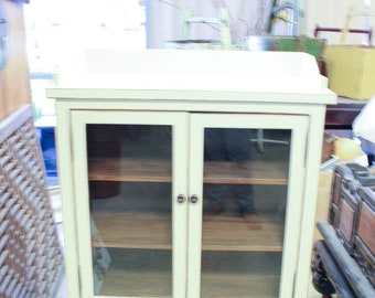 Vintage Chinese 2-Door 2-Drawer Cabinet
