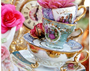 Tea Time - 5 Postcard Set