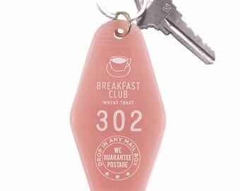 Breakfast Club Key Tag - Pink