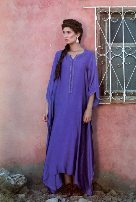 Haute couture Moroccan/ Dubai dress/ Abaya Kaftan/ Caftan