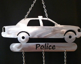 Police Car Wind Chime