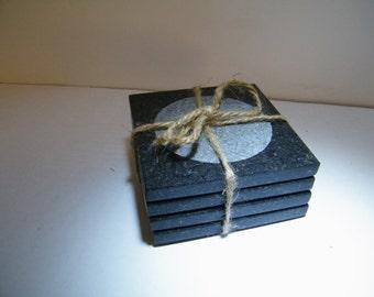 Coaster, Stone Coaster Set,Granite Coasters/Black Granite Coaster Set