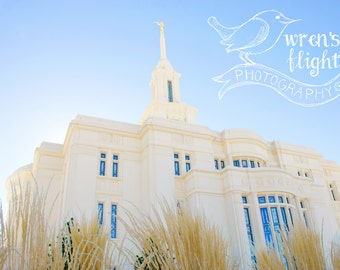 Payson Utah Temple II - Digital Download - Cheerful and Bright Fine Art Photography