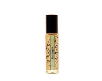 Gardenia perfume roll on perfume floral perfume oil hawaiian perfume gardenia fragrance oil hawaiian fragrance natural perfume oil natural