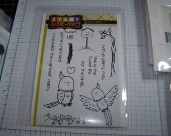 Stamp Annie Thing - Rare Bird