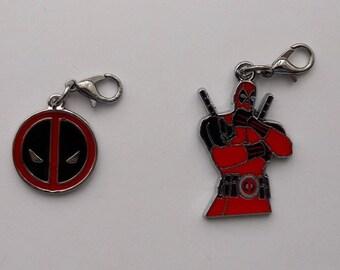 Deadpool Enamel Bracelet Charm
