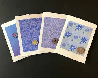 HandMade Greeting Cards (Perfect Periwinkle)