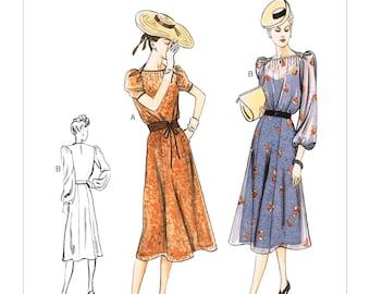 Vogue Pattern V9295 Misses' Dress