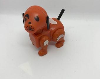 Vintage fisher price brown dog