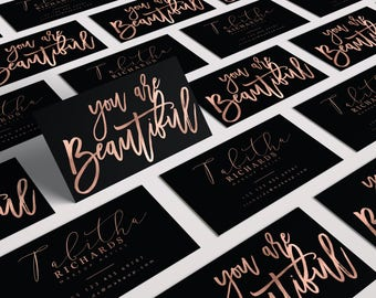 Makeup artist etsy elegant makeup artist business card rose gold business card black gold business card colourmoves