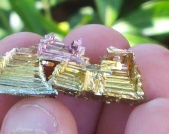Triple Pyramid Bismuth Crystal
