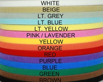 """Ultra thin VELCRO® brand double sided hook & loop tape one(1) yard 3/8'', 1/2"""", 5/8"""", 3/4"""", 1"""", 1 1/2"""", 2"""", 3"""", 4"""" wide doll clothes dresses"""