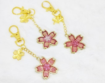 Sakura Matsuri Blossom Keychains- 3 Styles