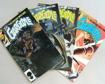 Limited series Gargoyle issues 1 to 4