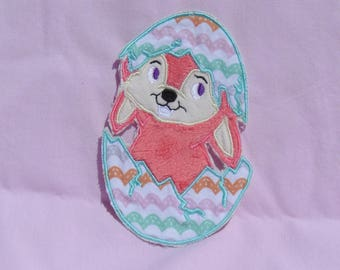 Easter Bunny in egg