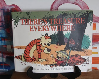 Gorgeous Classic CALVIN AND HOBBES Collection :There's Treasure Everywhere""