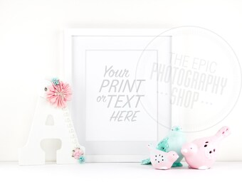 Print Background / Blank Frame / Styled Stock Photography / Product Photography / Staged Photography / Product Background / GR012