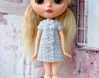 Blythe Chanel style dress for Blythe or similar bodies