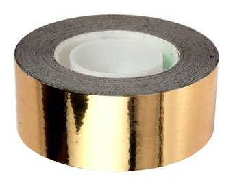 33 m gold masking tape - scotch bright gold