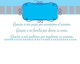 Child Baptism Invitation