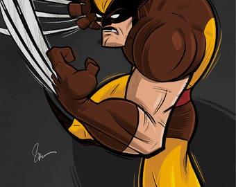 Wolverine Berzerker Poster Art Print 7 Giclee Print Gallery Quality