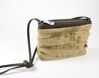 Lederhandtasche Dockerclutch