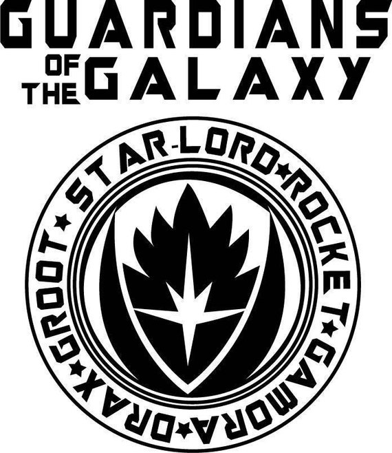 Guardians Of The Galaxy Design For Silhouette Studio Cut