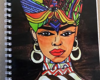 Nefertitti - Queen of Egypt Notebook 200 pages